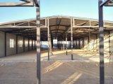 멕시코에 있는 현대 새로운 강철 구조물 조립식 가옥의 부분품 제조 창고