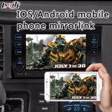 Поверхность стыка автоматической навигации Android видео- на cиенна Тойота Mirrorlink 2014-2017
