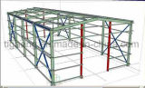 Almacén en grande de la estructura de acero de la construcción rápida reciclable del precio de fábrica