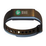 Fonction sèche de fréquence cardiaque de bracelet de Bluetooth d'OLED de montre intelligente neuve d'écran couleur