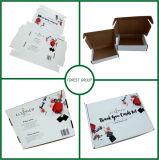 Calcetines de la impresión de la flor que empaquetan el rectángulo