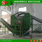 Máquina trituradora eje doble para el reciclaje de neumáticos/madera/Metal