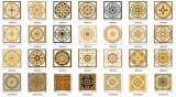 Manufactory of Carpet Tiles Crystal Flower (BDJ60981-2)