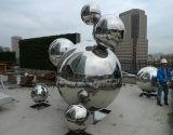 900mm 750mm 304 spessore Polished della sfera 2mm dello specchio dell'acciaio inossidabile