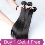 Cheveu brésilien de Vierge attaché pleine par main de bonne qualité de cheveux humains