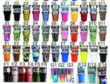 Горячее цена Tumbler Rambler чашки охладителя Yeti цветов Китая 10, 12oz, 20oz, 30 склянка вакуума 64 Oz с крышками