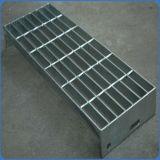 鋼鉄物質的な棒屋内およびドアの使用のための耳障りな階段踏面