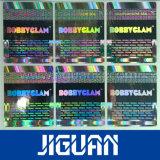 De douane drukte Hete Folie af Stempelend de Goedkope Sticker van het Hologram van de Douane