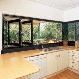 [أوسترلين] معياريّة ألومنيوم قطاع جانبيّ يطوي نافذة مع يليّن زجاج