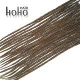 Estensioni superiori dei capelli di Dreadlocks del Crochet del Brown dei capelli umani