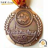 Nessun nastro militare della medaglia di qualità su ordinazione di Hight della medaglia del metallo di MOQ