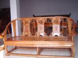 La conception de la porte en bois de teck revêtement vernis transparent