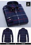 Camicia di Oxford del manicotto del cotone di alta qualità degli uomini di Oxford dell'uomo lungo del panno