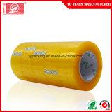 55mic nimmt wasserbasierte anhaftende acrylsauerverpackung des Raum-BOPP 120rolls in einem Karton auf Band auf