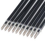repuesios del bolígrafo de la tinta azul del negro del repuesio de la pluma de bola de rodillo de la punta de la longitud 0.5m m del 13cm