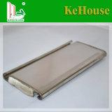 Pieza de repuesto de la puerta resistente al viento de obturador de rodillos de aluminio fabricado en China