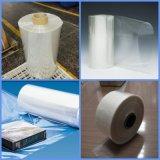 Peau de l'emballage film thermorétractable transparente en PVC