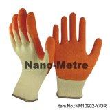 Nmsafety 10g синего цвета с покрытием из латекса ручного труда рабочие перчатки