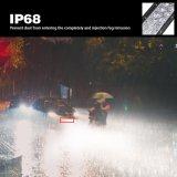 500W super Heldere Waterdichte IP68 Dubbele Gebogen LEIDENE 52inch van de Rij 5D Lichte Staaf voor Offroad Jeep