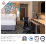 ダブル・ベッド(YB-O-91)が付いている敏感なホテルの寝室の家具