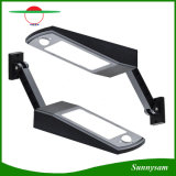 Captador solar al aire libre Ángulo de haz de luz ajustable de 48 LED para iluminación de seguridad de la Ruta Jardín Patio
