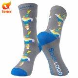 Glücklicher Socken-Mann-oder Frauen-Zoll strickte Kleid-Socken