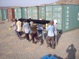 Сэндвич панели модульного дома используется в Саудовской Аравии