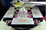 Regla totalmente automático de Serigrafía con equipos de secado UV