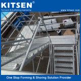 Sistema d'acciaio dell'armatura di Ringlock di capienza portante pesante con la scaletta