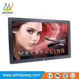 """Affichage de publicité professionnel télécommande 17"""" - Cadre photo numérique de la vidéo HD (MW-177DPF)"""
