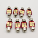 Girlande 31mm 4014 3014 10SMD Canbus Birne 12V des Auto-LED