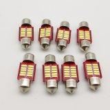 Festone 31mm lampadina 12V dell'automobile LED di 4014 3014 10SMD Canbus