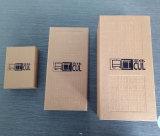 Изготовленный на заказ сильная серая бумажная горячая коробка подарка Chinoiserie логоса штемпеля