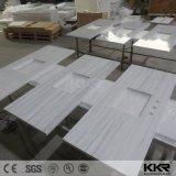 Parte superiore di superficie solida di vanità della stanza da bagno di Kkr con un foro dei due dispersori