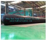 Ballon en caoutchouc gonflable pour le projet de ponceau au Kenya