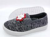 子供のスリップオンのズック靴の注入の履物の偶然靴(ZL1017-2)