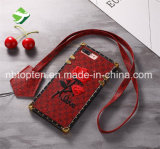iPhoneの携帯電話のアクセサリのための刺繍の電話箱