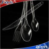 La coutellerie jetable prix d'usine définit bien vendre de la Coutellerie définit la vaisselle coloré (JX151)