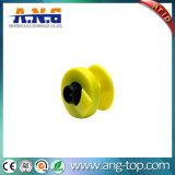 Tag de orelha animal da impressão Em4305 RFID do número do laser