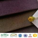 100% de poliéster Sofá Sarjado tom duplo revestimento em tecido de veludo