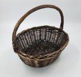 최신 판매하거든 손잡이 (BC-WB11)를 가진 실제적인 Handmade 버드나무 바구니