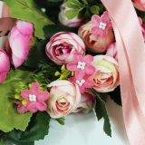 Ghirlanda di plastica di vendita calda del fiore per la decorazione di cerimonia nuziale del partito