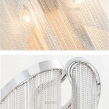 Aluminiumkettenform-Anzeigen-Wand-Lampen für Wohnzimmer
