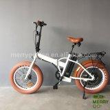 4.0の脂肪タイヤが付いている熱い販売の折る電気バイク