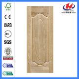 キャビネットドアのLowes二重Prehungの戸棚の固体コア木製のクルミのベニヤのドア