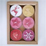 Boom, Klok, Engel, Sneeuwvlok, Giftbox, Kaars van Tealight van de Grootte van X'mas van de Ster de Decoratieve Kleine,