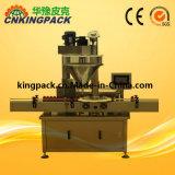 Pó rotativa automática máquina de enchimento de garrafas com marcação CE