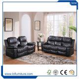 كلاسيكيّة تصميم جلد أريكة, يحنى جلد أريكة مجموعة, يعيش غرفة أريكة أثاث لازم