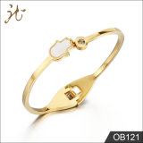 De gouden Armband Ob121 van het Roestvrij staal van de Hand van Boedha