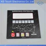Индикатор управления Наложение панели для комбинации супервизор / подчиненный контроллер с 3м клея